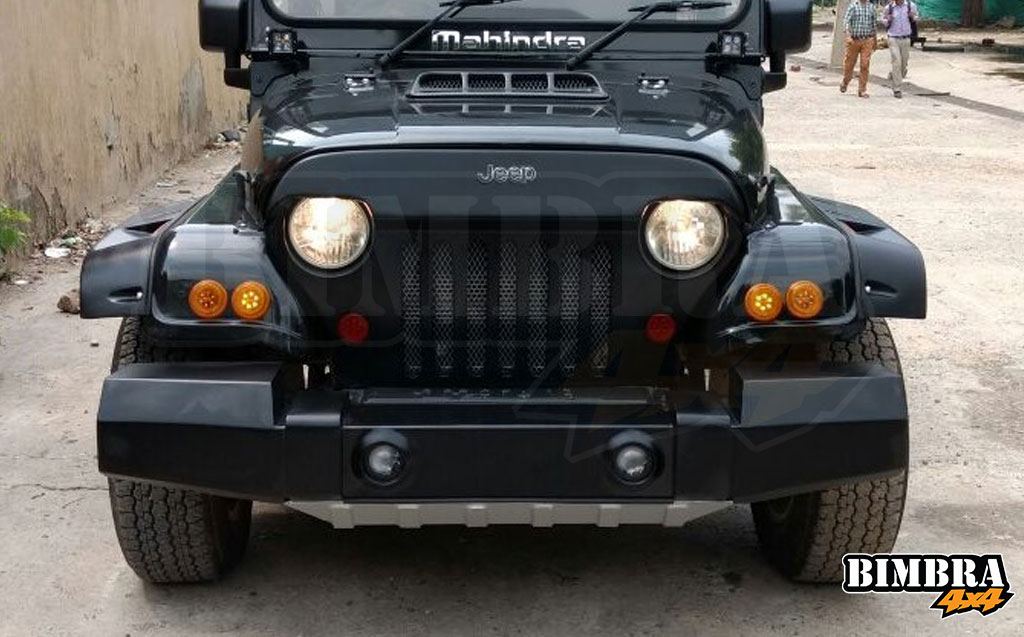 Angry Bird Grill For Mahindra Jeep
